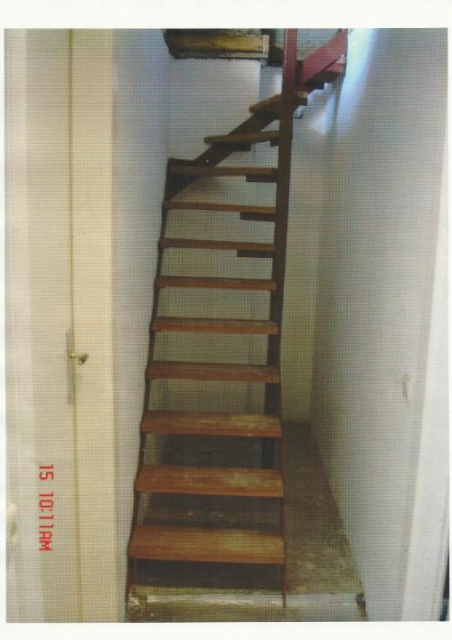 Metaalbewerking - Trap toegang tot zolder ...